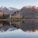Reflections of Kilchurn Castle by Julian Baird