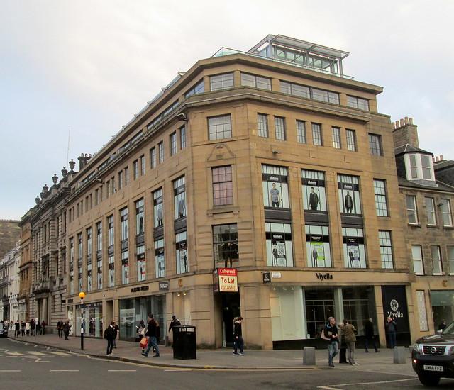 Art Deco, George Street, Edinburgh