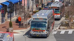 WMATA Metrobus 2014 NABI 42 BRT Hybrid #8079