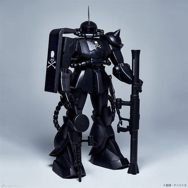 STRICT-G×mastermind JAPAN 聯名第4彈!HY2M 1/12《機動戰士鋼彈》 MS-06S 薩克II(ザクII) mastermind JAPAN Ver.