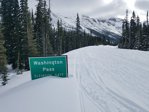 Washington Pass summit