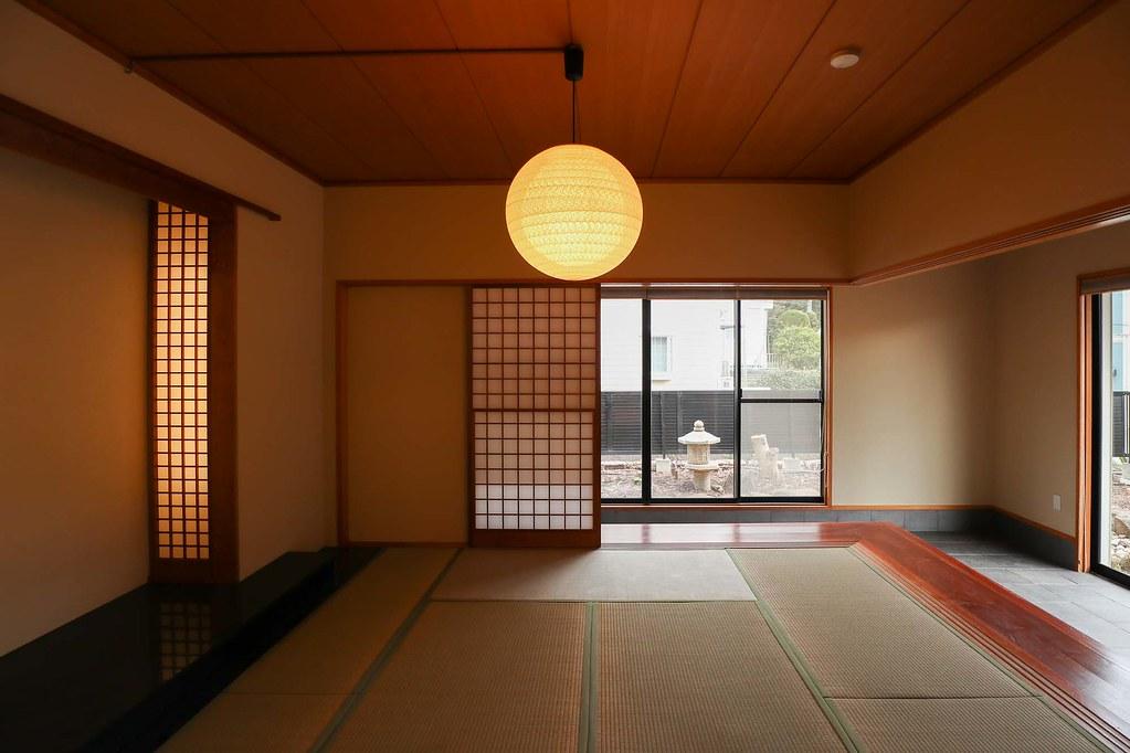鎌倉の中古戸建/1階の和室 趣きがありますね