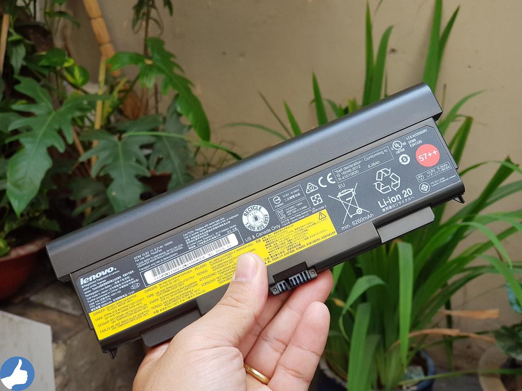 Pin 9 Cell ThinkPad W541 - Cung cấp thời lượng sử dụng lâu nhất trong phân khúc