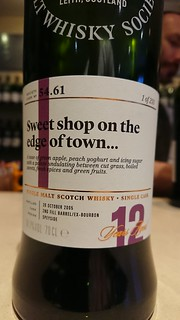 SMWS 54.61 - Sweet shop on the edge of town...