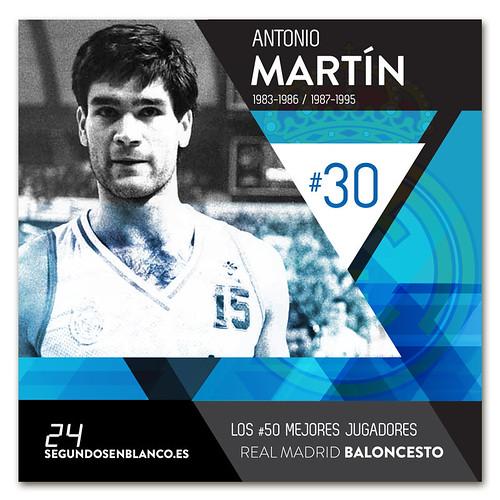 #30 ANTONIO MARTÍN