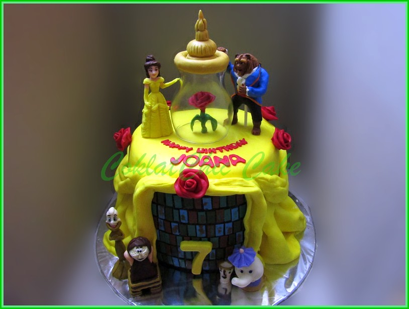 Cake Beauty & The Beast JOANA 2xround 20 cm