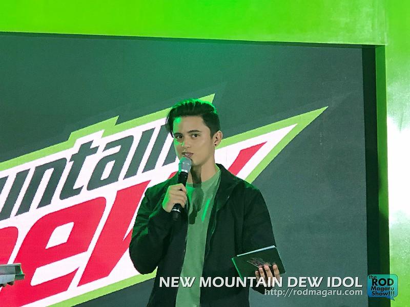 DEW IDOL JAMES REID MOUNTAIN DEW 19