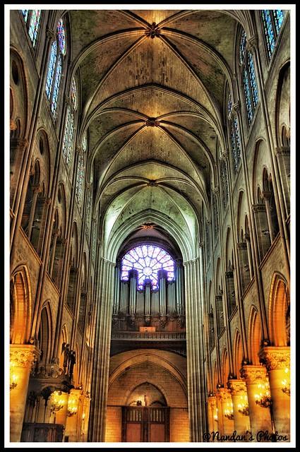 Inside Notre'dame