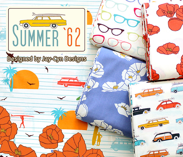 Birch Fabrics Summer '62 Collection by Jay-Cyn Designs