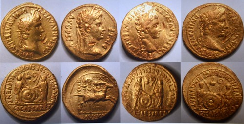 Roman gold coins found in Norfolk England