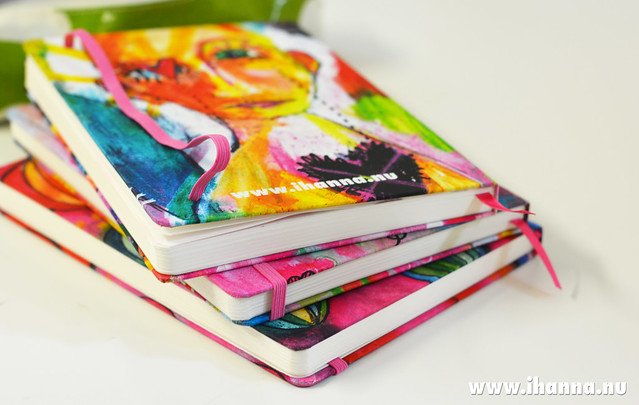 Three custom made Studio iHanna Sketchbooks