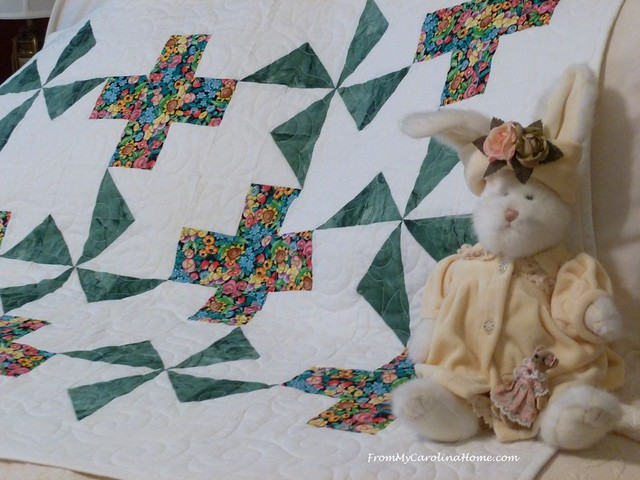 Pinwheel Plus from Modern Plus Quilts at From My Carolina Home