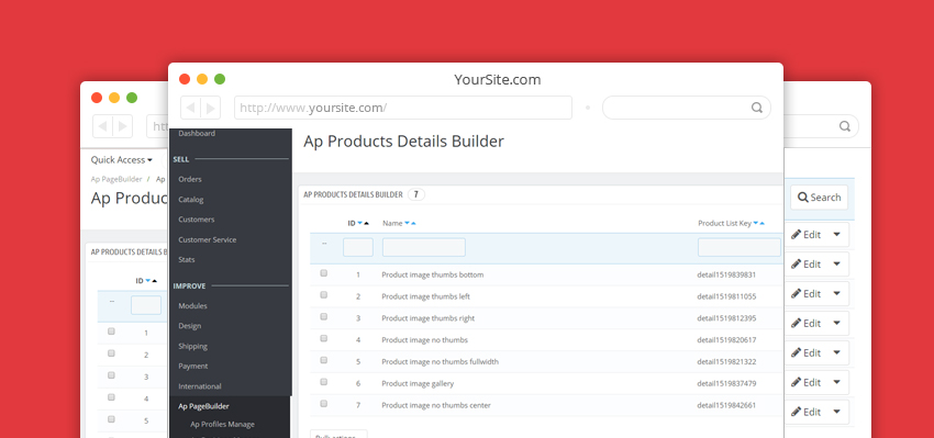ap product detail builder