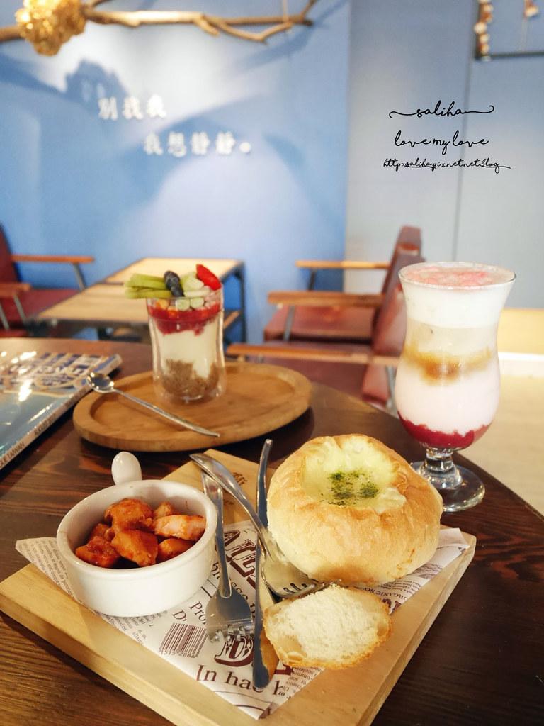 台北捷運松江南京站時安靜好咖啡館早午餐 (25)