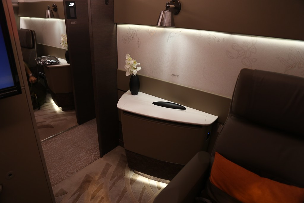 Singapore Airlines First Class Suites 43