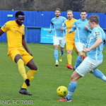 Brentwood Town FC v Barking FC - Saturday April 7th 2018