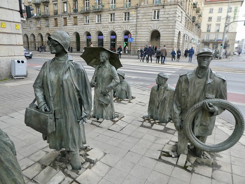 The Monument of the Anonymous Passerby, Wroclaw