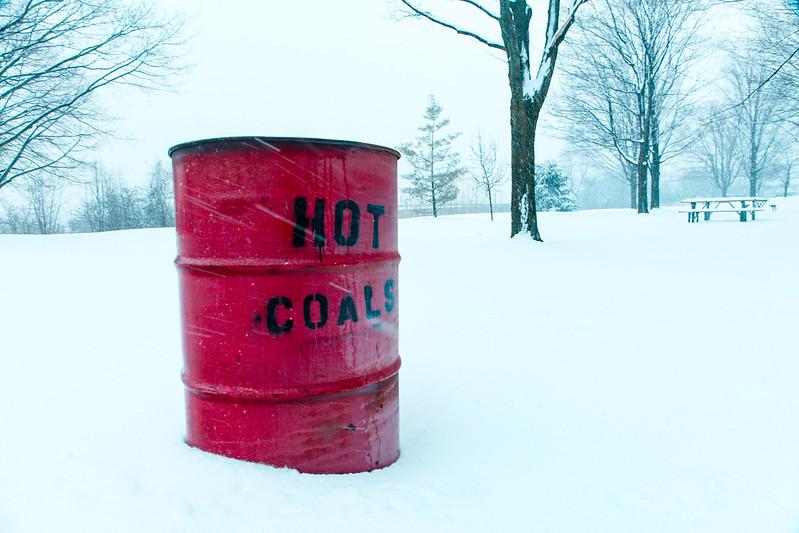Cooling Coals