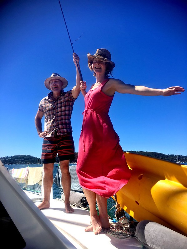D & E. Sailing the seas. Pittwater.