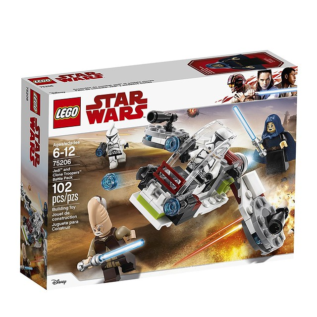 75206 Jedi and Clone Troopers Battle Pack