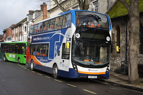 Stagecoach South 10889 YX67VCA