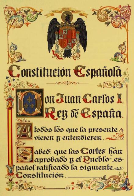 Jornadas Conmemorativas de la Constitución Española de 1978