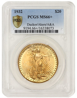 1932 Double Eagle obverse