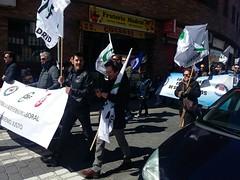 Manifestación Galapagar (25/3/2018)