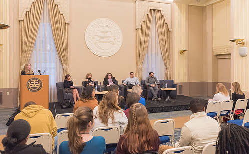 Student Human Resources Association Hosts Panel Focused on Networking