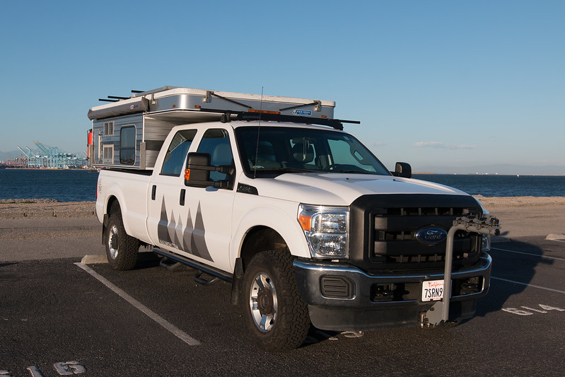 Ford F-250 & Four Wheel Camper