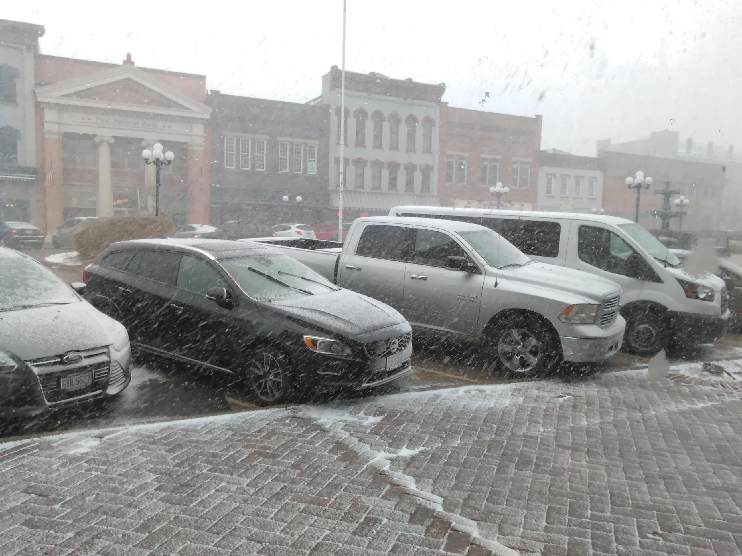 Nelsonville Snow 3-13-2018 1-11-08 PM