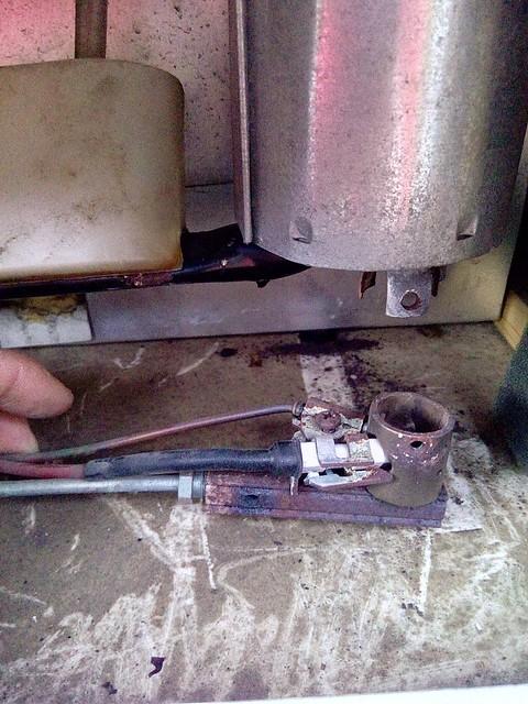 nettoyage du brûleur gaz du frigo