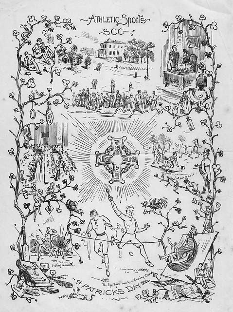 St. Patrick's Day 1884: sports