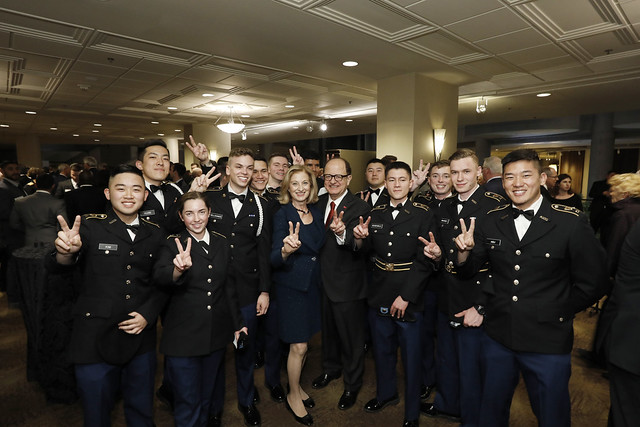 USC Veterans and ROTC Dinner 2018