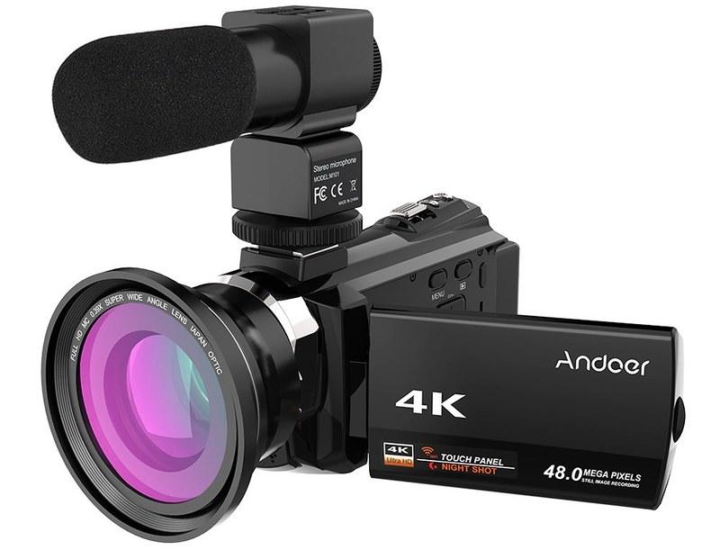 Andoer 4K ビデオカメラ (2)