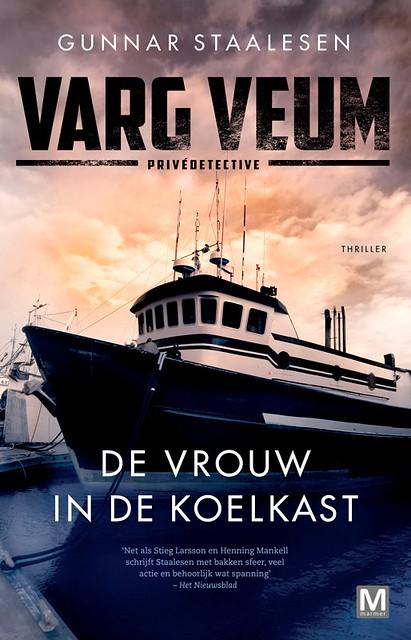Omslag-De Vrouw In De Koelkast-VargVeum-Gunnar Staalesen-LR