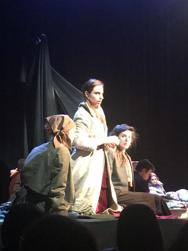 Représentation Carmen aux collégiens 2018
