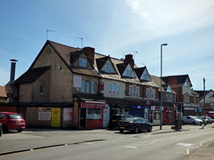 Church Hill, Northfield - shops including Carrot House