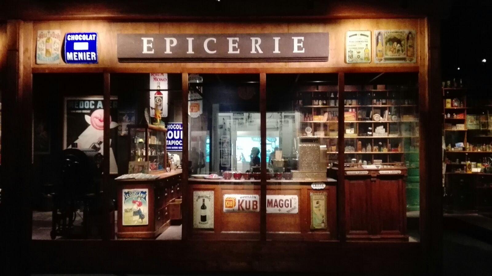 El museo de la Aquitania alberga un ultramarinos o épicerie de principios del S.XX Foto Alba Martín