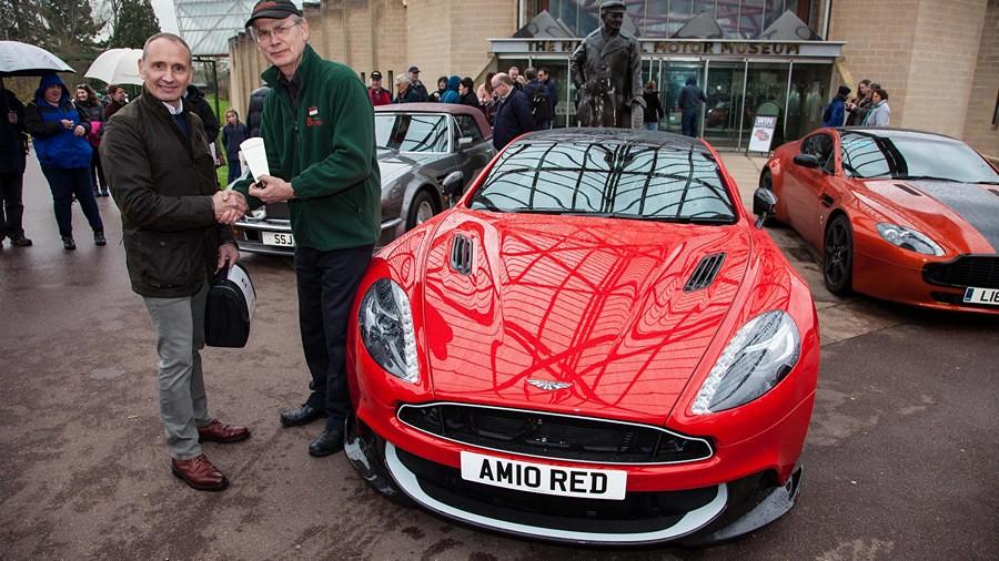 Humphrey Bradley Aston Martin Ten Red