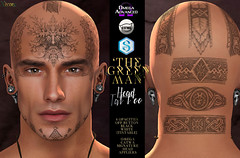 -Nivaro- 'The Green Man' Tattoo Appliers Advert @ Mainstore