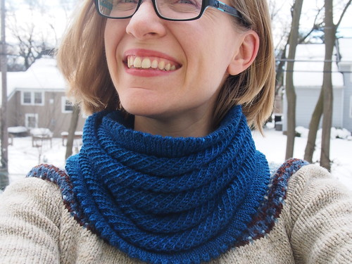 Finished Willow Cowl #3