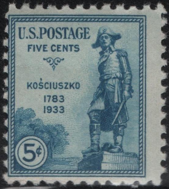 United States - Scott #734 (1933)