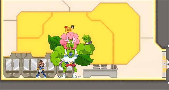 Double Cross - Flower Man