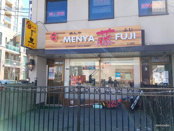 Menya Fuji storefront