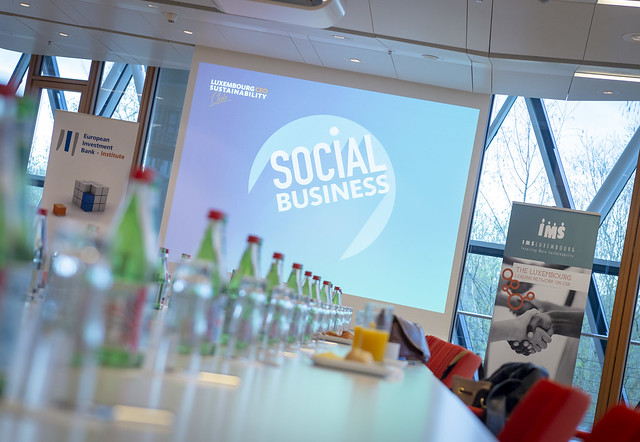 """Luxembourg CEO Sustainability Club """"Social business"""" le 10 avril 2018"""