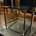 Chrome and glass coffee table E39