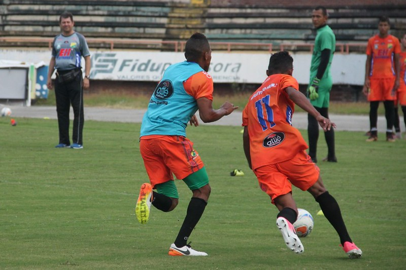 El despliegue físico de Amaya es una de sus cualidades futbolísticas