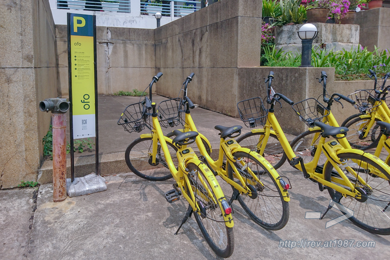 ofo Bike Share at KKU