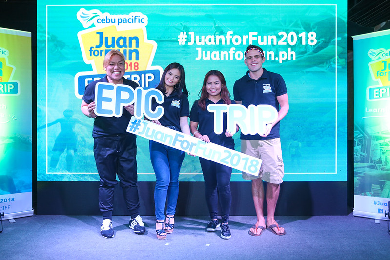 "Juan for fun coaches (left to right) Jude Bacalso, Bea Binene, Baninay Bautista, Kyle ""Kulas"" Jennermann"